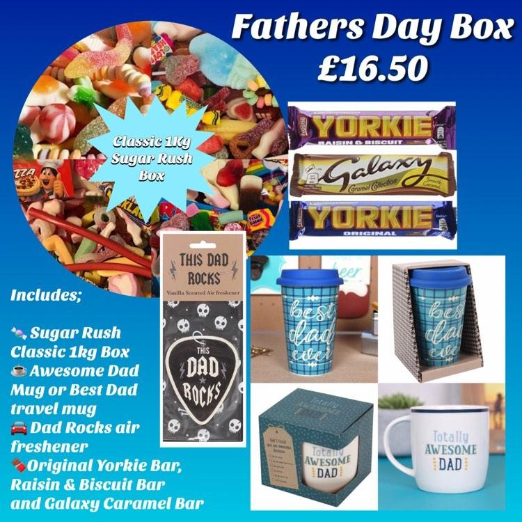 Fathers Day Box from Sugar Rush Confectionary