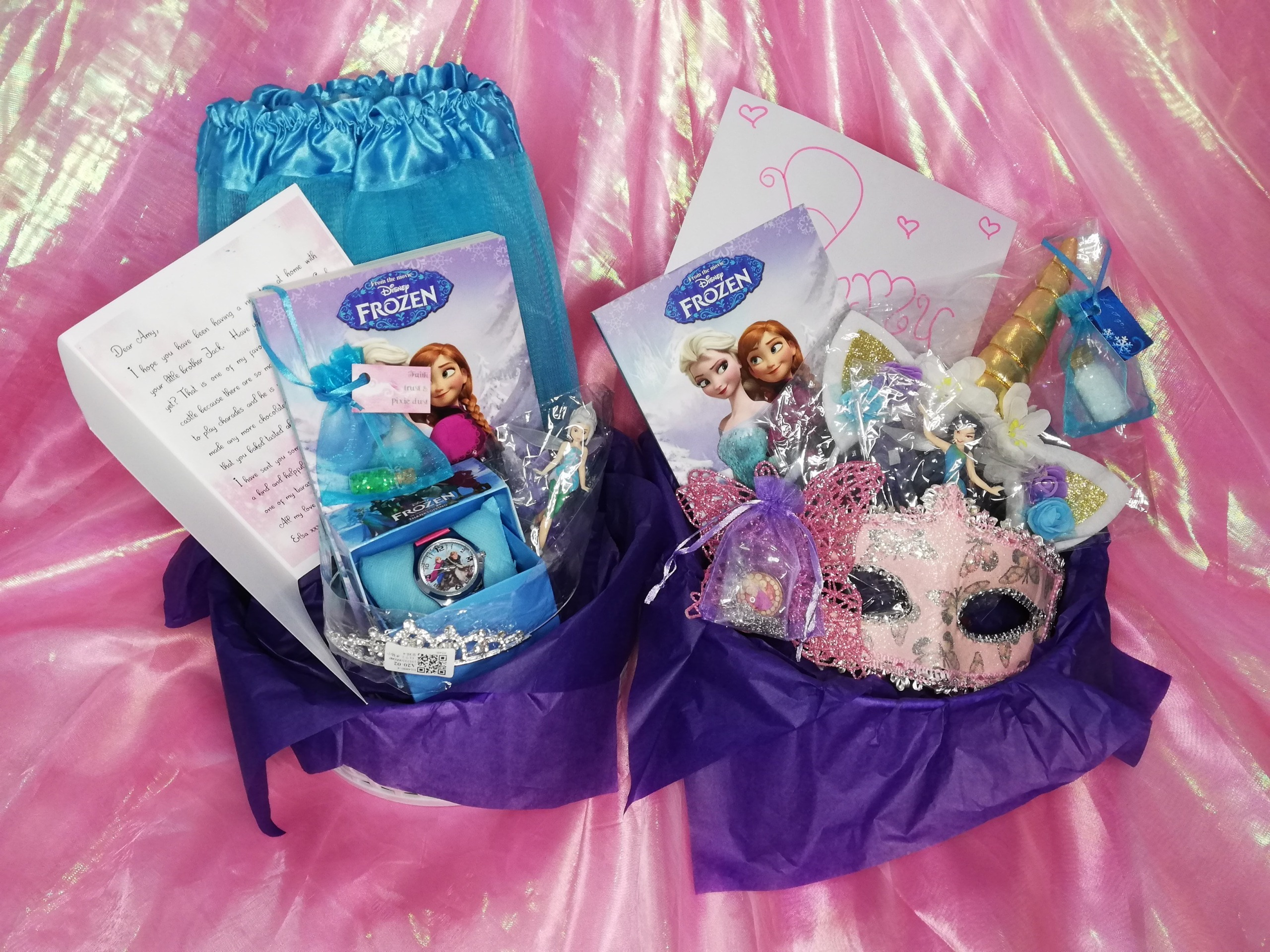Fairytale Mystery Box and Pre-Recorded Character Message (RRP £40)